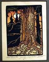 Old Growth Print by Kathleen West