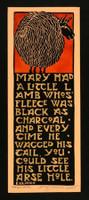 Mary's Lamb Print