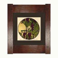 Framed Grape Print
