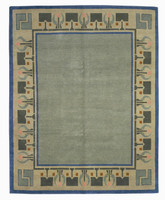 Craftsman Arrowroot Spearmint Rug