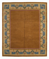 Craftsman Arrowroot Persimmon Rug