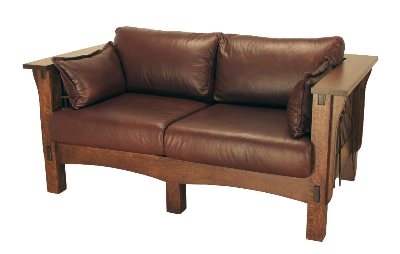 American Mission Spindle Loveseat Amw 1103