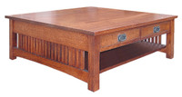 American Mission Square Coffee Table AMW-3636