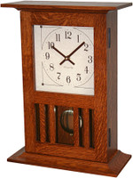 Mission Mantle Clock #301-BH