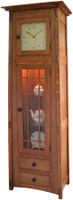 McCoy Mission Grandfather Shelf Clock #608-BH