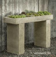Trough Garden Console Table L-042 by Campania