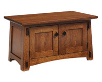 "Olde Shaker Panel 32"" Coffee Table 56-QF-00"