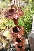 Sunflower Copper Rain Chain