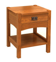 Mount Mitchell 1 drawer nightstand