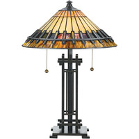 Arts & Crafts Tiffany Style Table Lamp