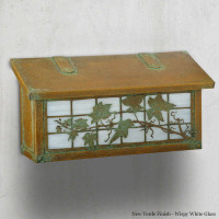 English Ivy Horizontal Mailbox