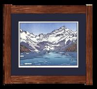 Framed Kayaking at Glacier Bay