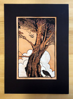 A murder of Crows Print