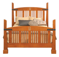 Hubbard Inlay Bed