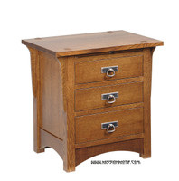 Craftsman Bedside Table CRW-2803S