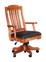 Royal Desk Arm Chair with Gas Lift RDAC-BER-330