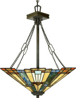 Arts and Crafts Style Pendant