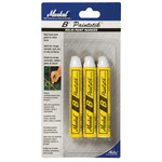 "Yellow Paint Crayon - 5x5/8"" - Rough Dry Surface Marking"