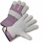 Split Leather Work Glove W/Synthetic Wool Lining 1dz
