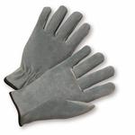 Medium Split Leather Calf Straight Thumb Driver's Glove 1dz
