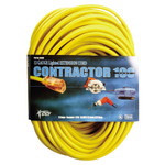 50'x12/3 Triple Tap Extension Cord with Diode End