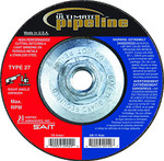 "4-1/2x1/8x5/8-11"" Type 27 Grinding Wheel Stainless Steel"