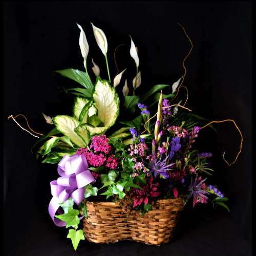 COLORFUL GARDEN BASKET