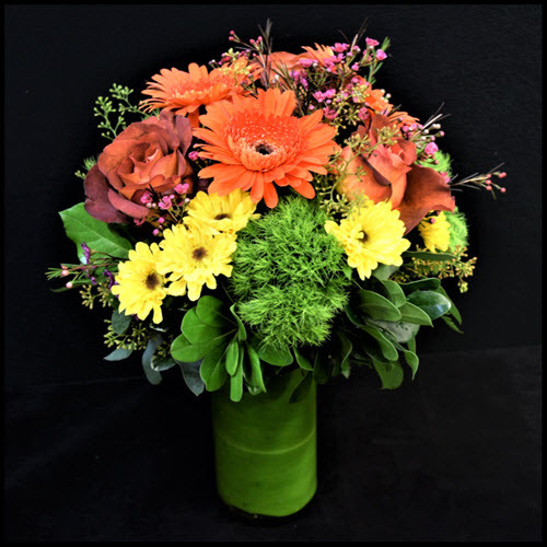 CHEERFUL AUTUMN DAY BOUQUET