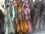 Fox fur pelts