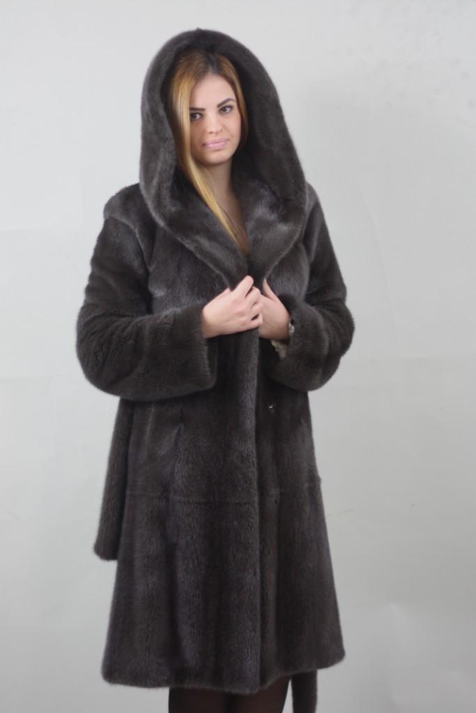 burguzinsky mink fur stroller hooded