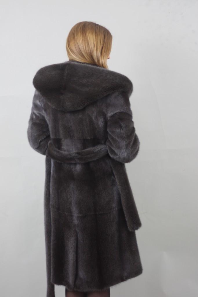 burguzinsky mink fur stroller hooded rear view