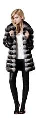Chinchilla Fur womens Jacket