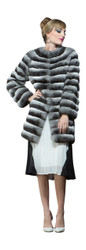 Chinchilla  Womens Fur Coat
