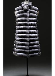Genuine Chinchilla Fur Vest