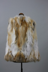 Golden Island Fox Fur Vest