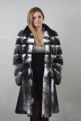 Blackcross Mink fur coat