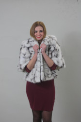 Luxury gift/Mink paws fur jacket/fur coat /Wedding,or anniversary present