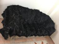 Silver fox feet fur blanket/throw/luxury blanket