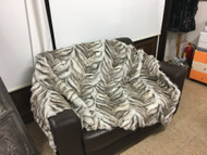 Light brown fox fur blanket/throw