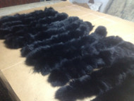 Black Fox fur Trim
