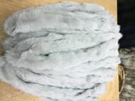 Charchoal fox fur Trim