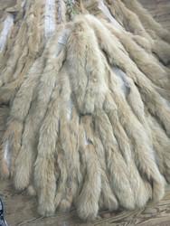 Light fox fur Trim