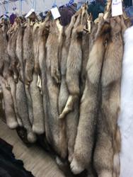 Crystal Fox fur pelts/skins