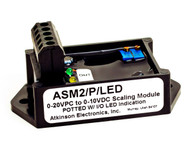 ASM2/P/LED:  Analog Scaling Module - Potted with LED Indicator