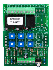 AVR4C:  3 Channel Adjustable Voltage Sensitive Relay