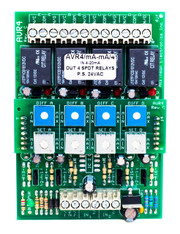 AVR4C  4 Channel Adjustable Voltage Sensitive Relay Voltage Milliamp Input