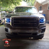 2014-2015 GMC Sierra Outline Headlights
