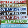 OutlawLEDS.com Sticker