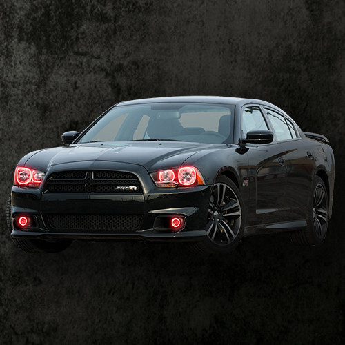 2011-2014 Charger Double Halo Headlights