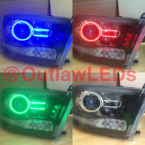 2009-2015 Dodge Ram Projector Headlights